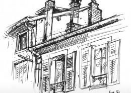 toits de Chambéry